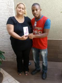 Ganhadora: Juliene P. Valence comprou em Supermercado Savegnago Loja - 31