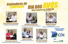 Ganhadores da Campanha Dia dos Avós