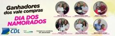 Ganhadores  da Campanha do Dias dos Namorados