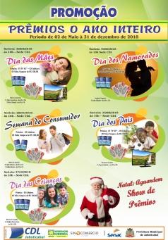 Ganhadores de Campanha do Dias das Crianças.